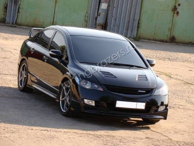 Капот Mugen на Honda Civic 4D