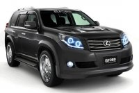 Расширители колесных арок для Toyota Land Cruiser Prado 150 под обвес Elford