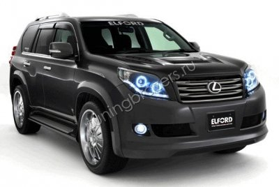 Расширители колесных арок для Toyota Land Cruiser Prado 150