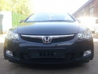Защита радиатора для Honda  CIVIC 4D VIII 2006-2009 черный