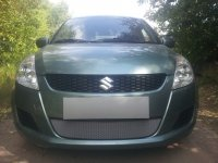 Защита радиатора для Suzuki Swift  2011-2013 chrome