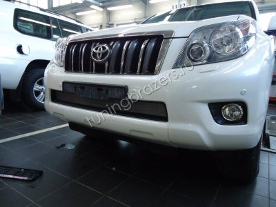 Защита радиатора для Toyota LC Prado 150 2009-2014 chrome