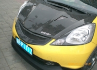 Решетка радиатора Mugen карбон для Honda Jazz (Fit) 08-