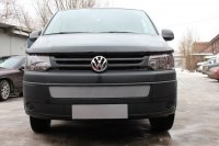 Защита радиатора для Volkswagen T5 рестайлинг (Transporter,Multivan,Caravelle) 2009- chrome