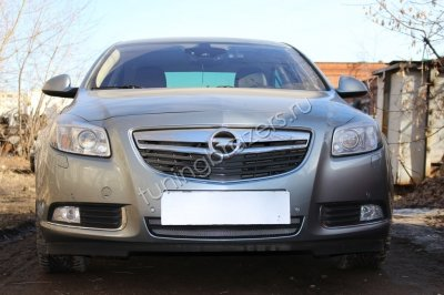 Защита радиатора для Opel Insignia  2009-2014  chrome