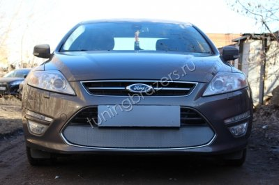 Защита  радиатора для Ford Mondeo IV 2011-2015 chrome