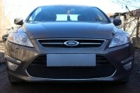 Защита радиатора для Ford Mondeo IV 2011-2015 black