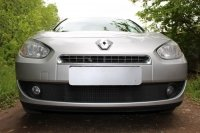 Защита радиатора для Renault Fluence I 2009-2013 black низ