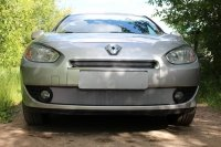 Защита радиатора для Renault Fluence I 2009-2013 chrome низ