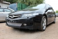 Защита радиатора для Honda Accord (VII Рестайлинг) 2006-2008г.в. Хром