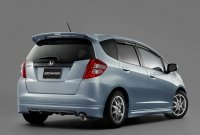 Накладка Mugen на задний бампер для Honda Jazz (Fit) 08-