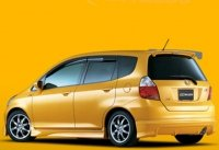 Накладка Mugen на задний бампер для Honda Jazz (Fit) 02-05