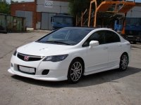Пороги INGS Extreem для Honda Civic 4D