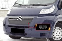 Зимняя заглушка решетки радиатора для Citroen Jumper 2006-2013 (250 кузов)