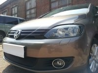 Защита радиатора для Volkswagen Golf Plus 2009- black