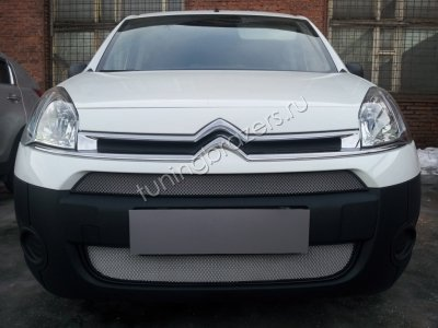 Защита радиатора для Citroen Berlingo 2013- рестайлинг  chrome