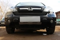 Защита радиатора для Honda CR-V 2007-2009 chrome