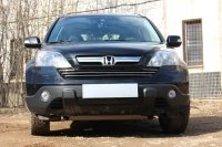 Защита радиатора для Honda CR-V 2007-2009 black