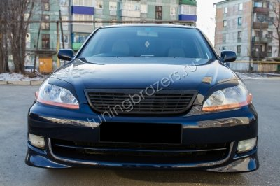 Накладки на фары для Toyota Mark II 110 кузов 2000-2004